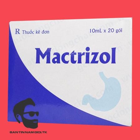 Thuốc Mactrizol là thuốc gì?