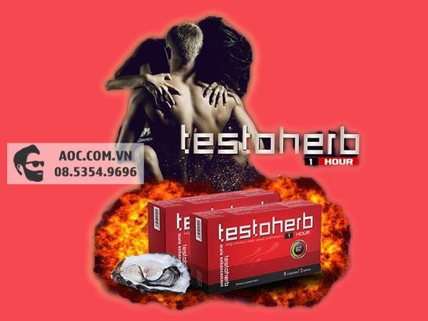Testoherb 1 hour hiện đang được bán tại các nhà thuốc trên toàn quốc