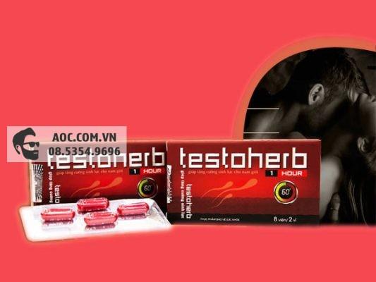 Thuốc tăng cường sinh lý: Testoherb 1 hour