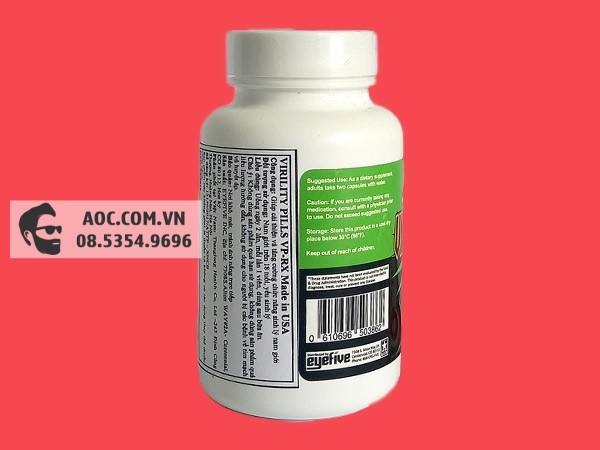Viên uống VPRX giúp tăng cường sinh lực hiệu quả