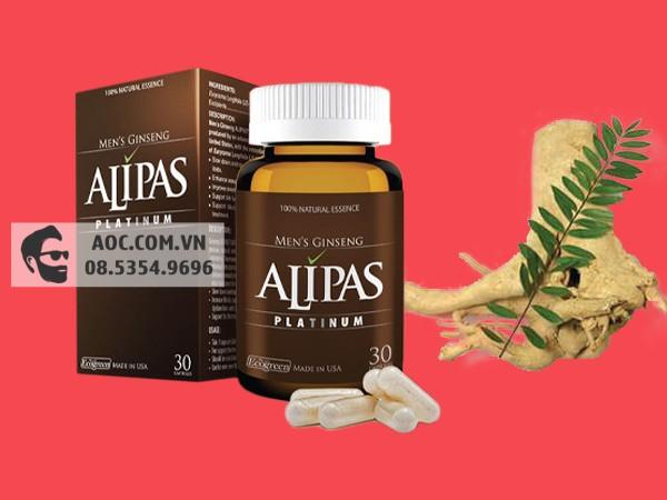 Thành phần Sâm Alipas