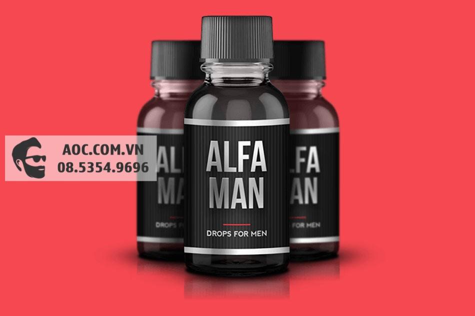 Alfa Man - hỗ trợ cải thiện sinh lý nam