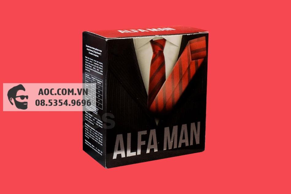 Hình ảnh hộp Alfa Man