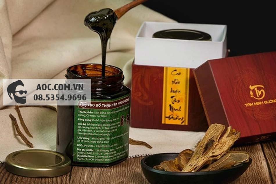 Cao Bổ Thận Tâm Minh Đường có nguồn gốc thảo dược thiên nhiên