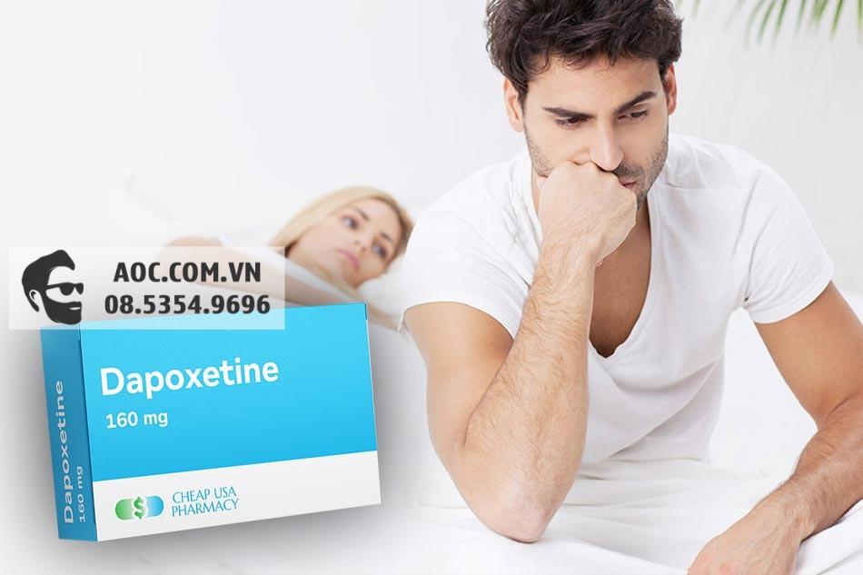Dapoxetine điều trị tình trạng xuất tinh sớm