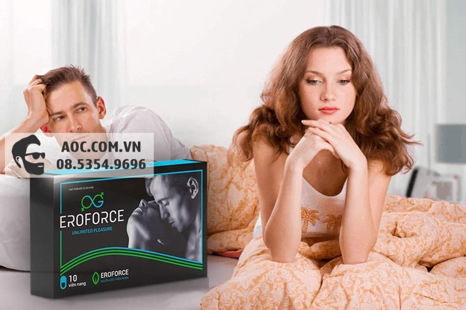 EroForce - hỗ trợ tăng cường sinh lý phái mạnh