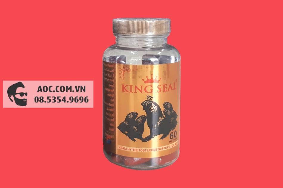 Hình ảnh lọ Hải Cẩu Hoàn King Seal