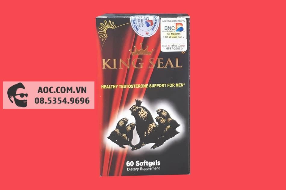 Hình ảnh hộp Hải Cẩu Hoàn King Seal