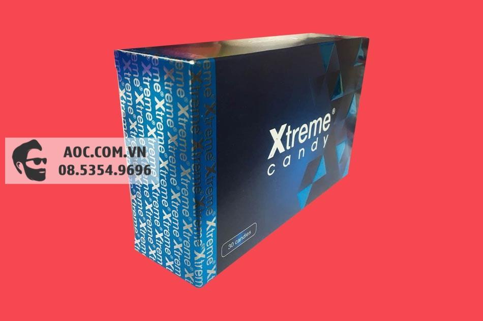 Kẹo Sâm Xtreme Candy bào chế từ các thành phần thảo dược