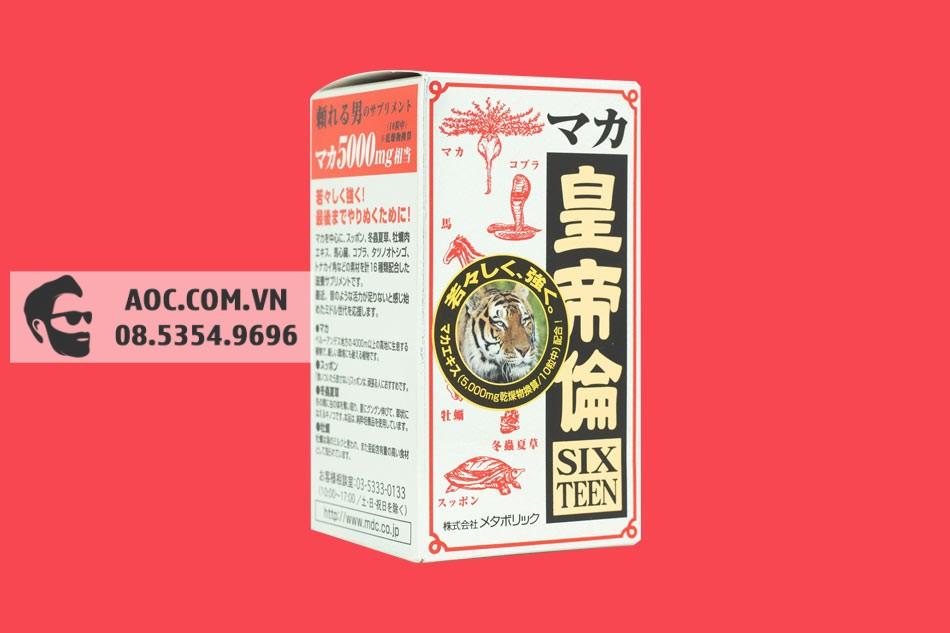 Hình ảnh hộp Viên uống Maka Sixteen