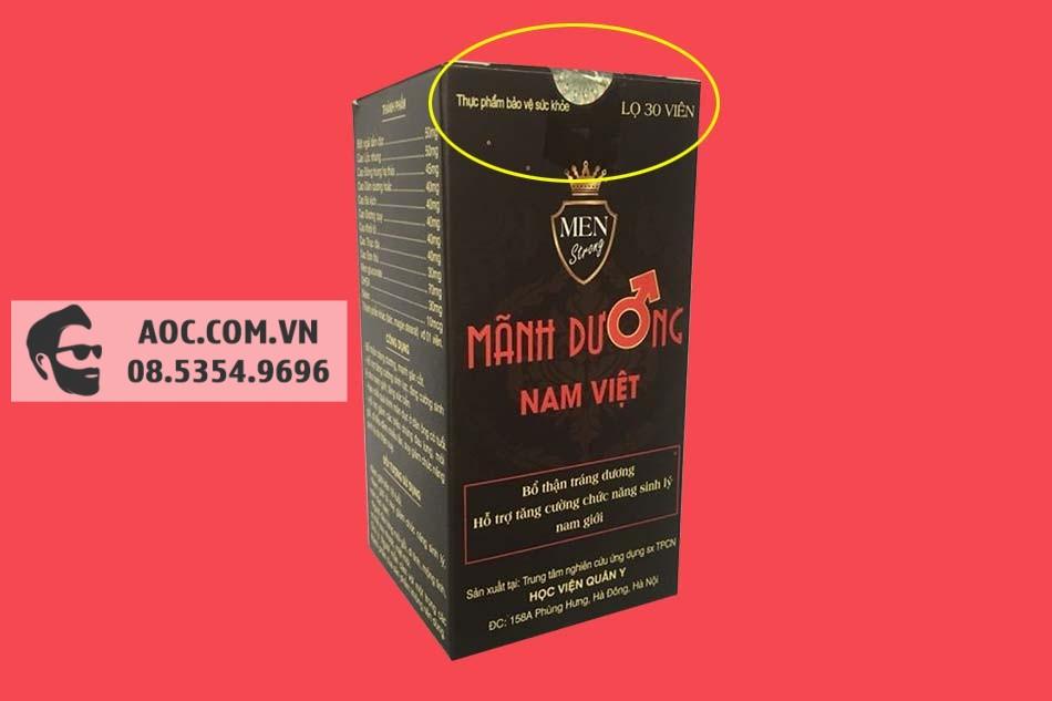Tem chống giả của Mãnh Dương Nam Việt