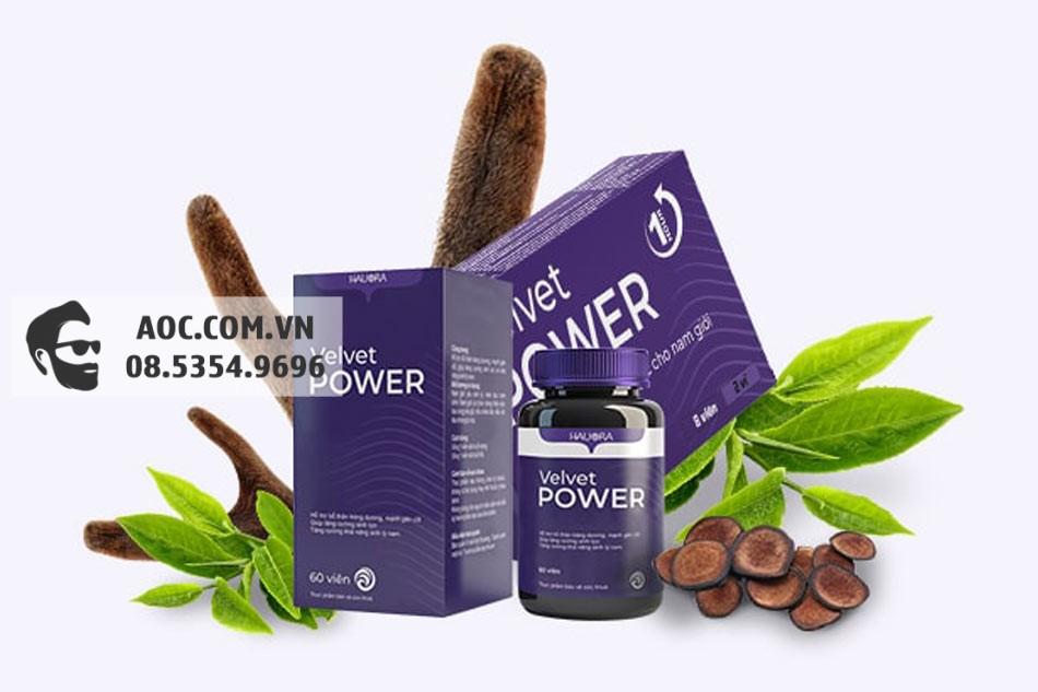 Velvet Power có nguồn gốc thảo dược