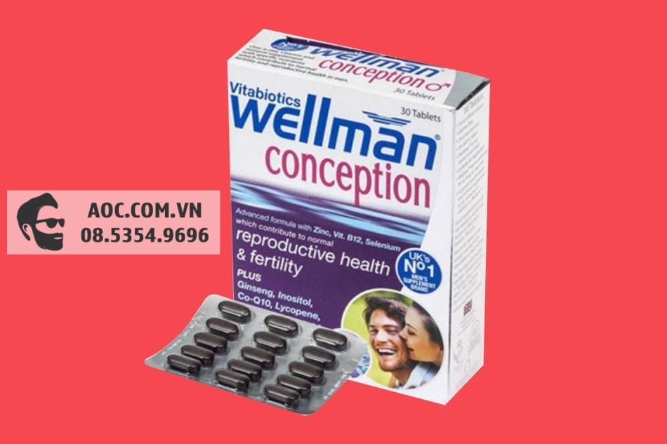 Wellman Conception bào chế dưới dạng viên nang