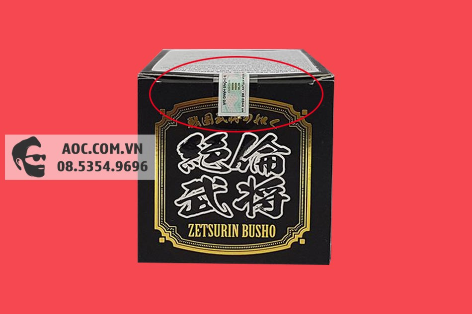 Tem chống giả của Zetsurin Busho