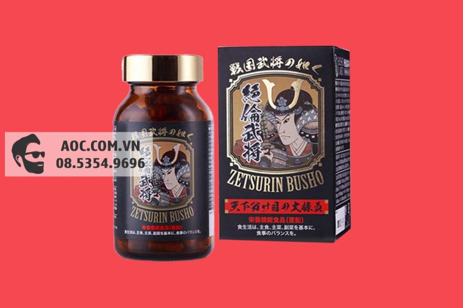 Zetsurin Busho được bào chế dưới dạng viên nang