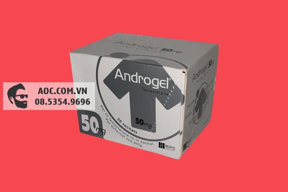 Androgel 50mg bào chế dưới dạng gel