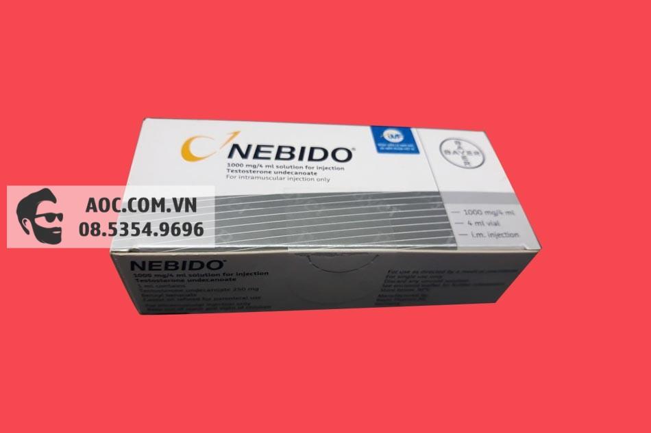 Nebido giúp tăng cường sinh lý cho nam giới