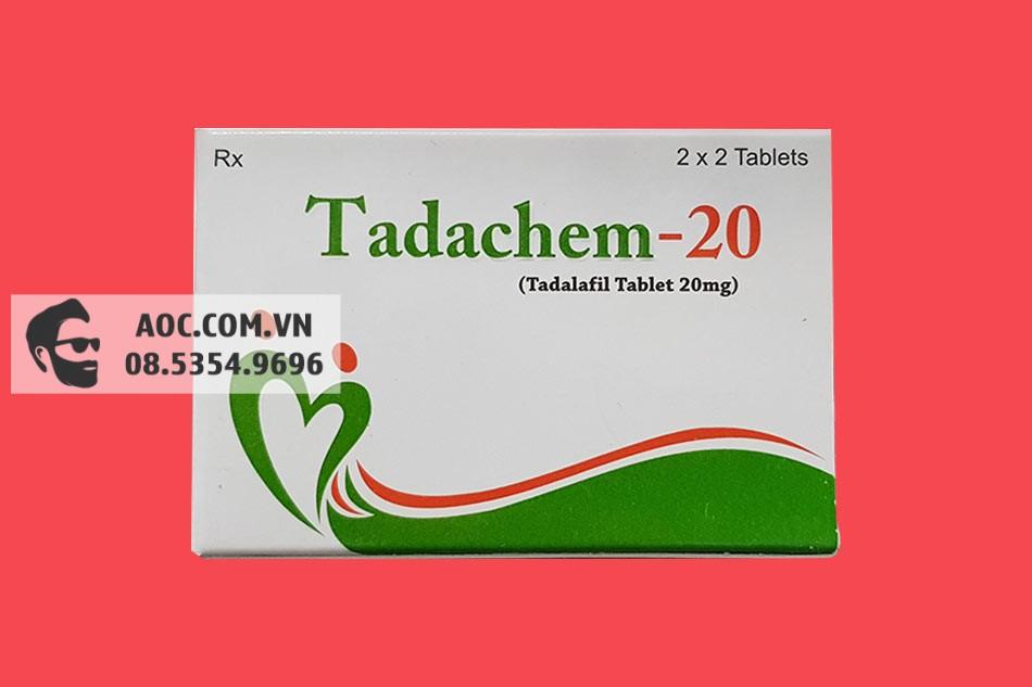 Hình ảnh hộp thuốc Tadachem 20mg