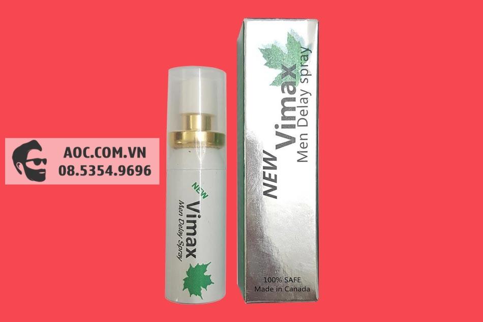 Hình ảnh lọ xịt Vimax Spray